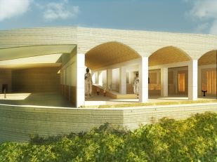 exhibition exterior view